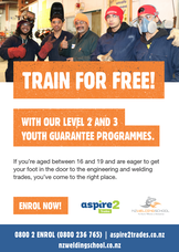 TRAIN FOR FREE - Engineering and Welding - TRADES