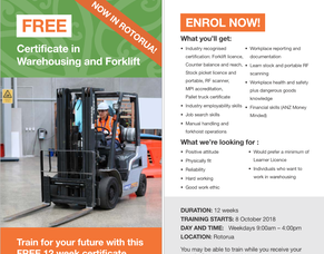 Certificate in Warehousing and Forklift - FREE